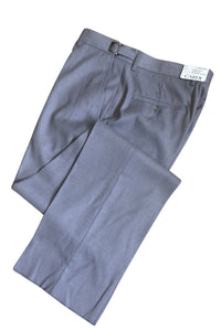 """Ethan"" Heather Grey Super 150's Luxury Viscose Blend Suit Pants"