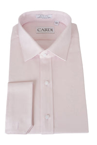 """Jamison"" Pink Twill Spread Collar Dress Shirt"