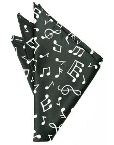 Music Notes Pocket Square