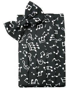 Music Notes Cummerbund
