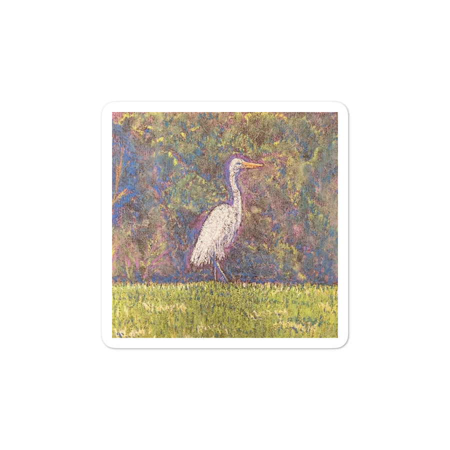Egret at Pote Field (3