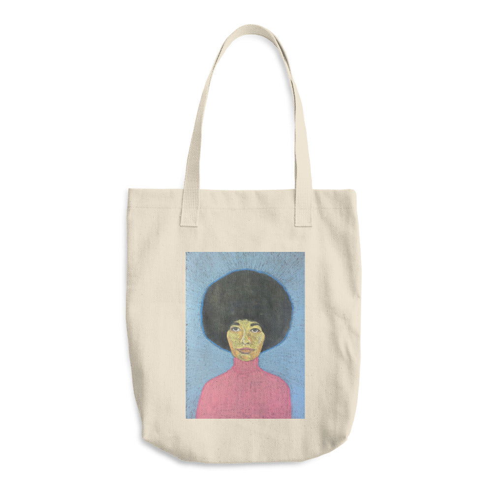 angela davis tote bag