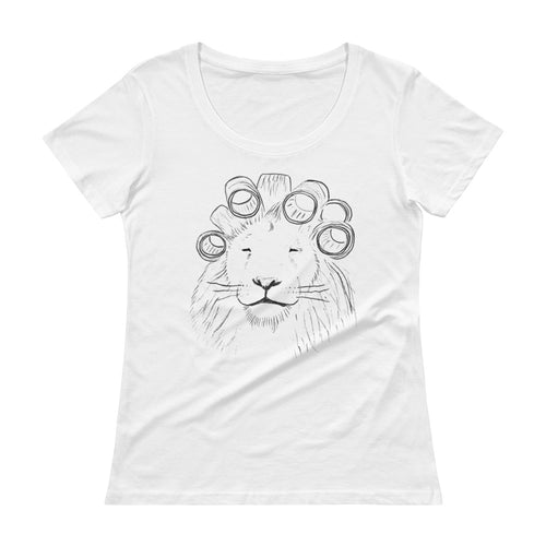 Lion Boatneck T-Shirt
