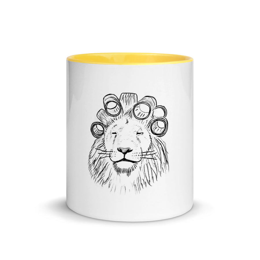 The Yellow Lion Mug
