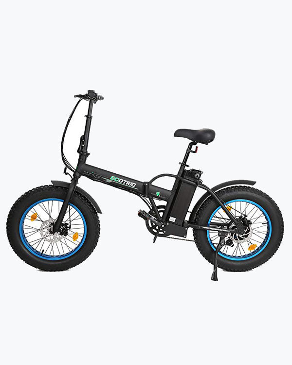 ECOTRIC Fat Tire 20810 - Portable Folding E-Bike - Active Fun Electric Bicycles & Scooters