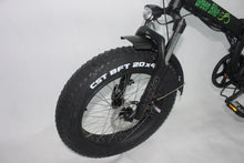 GB500 Fat Tire From Green Bike USA - 4 inch tires for Snow and Beach riding! - Active Fun Electric Bicycles & Scooters