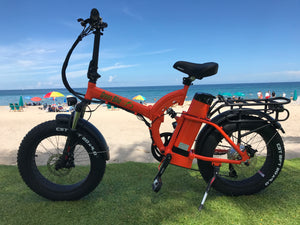 "GB750 Fat Tire by GreenBike USA - 4"" Tires for every kind of ride - Active Fun Electric Bicycles & Scooters"
