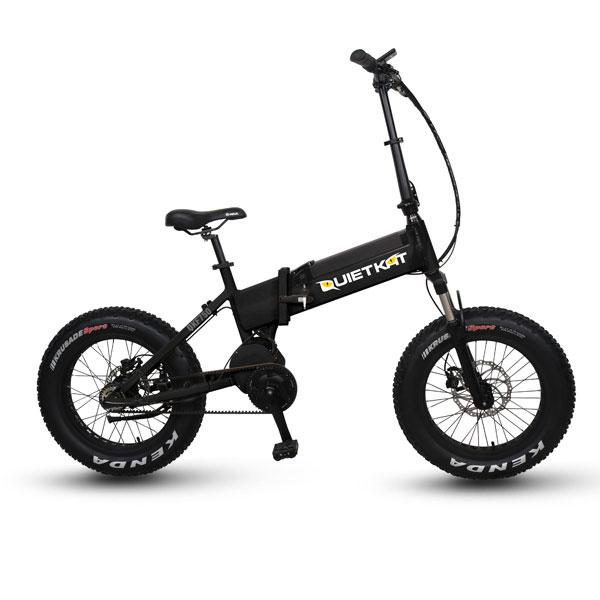 BANDIT - Compact, Transportable E-Bike from QuietKat - for Great Outdoor Adventures - Active Fun Electric Bicycles & Scooters