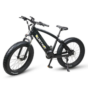 PREDATOR 750 by QuietKat - E-Bike with Power and Performance for Advanced Terrain - Active Fun Electric Bicycles & Scooters