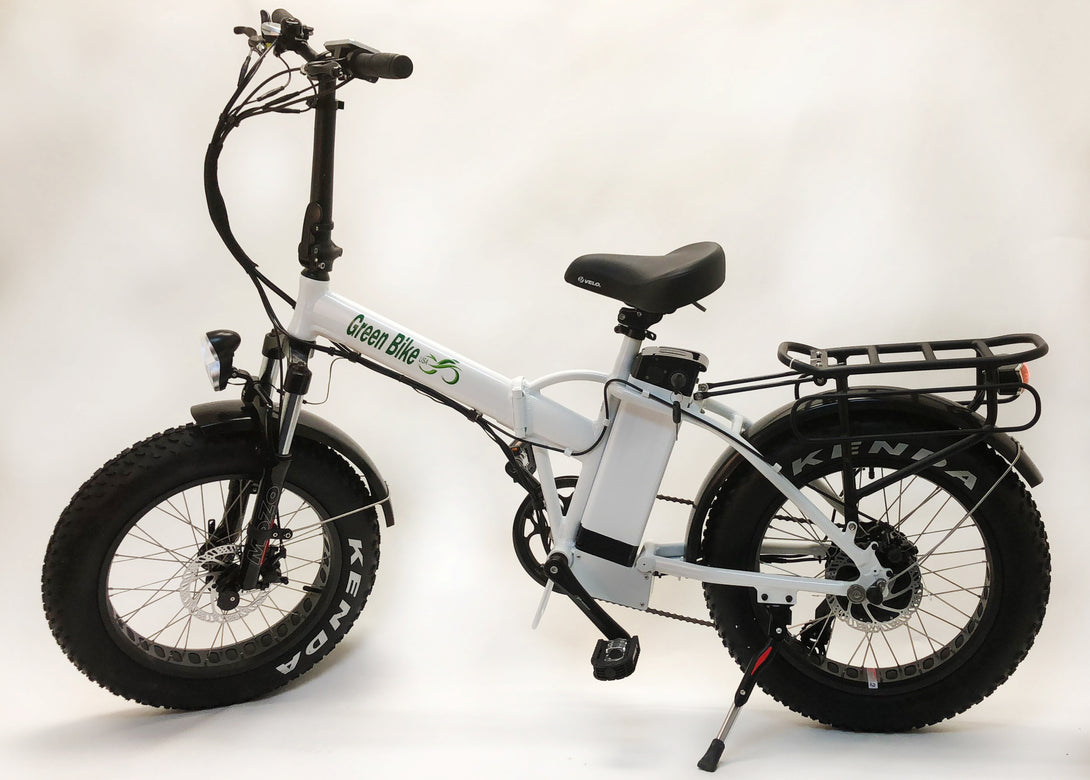 GB1 FAT TIRE - Simple, Reliable - a Great E-Bike from Green Bike USA - Active Fun Electric Bicycles & Scooters
