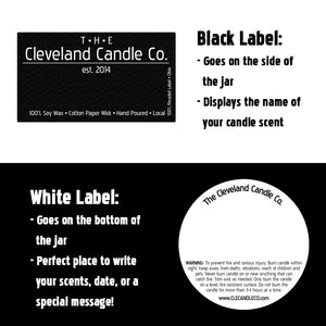 16oz B&W Flag Glassware Custom