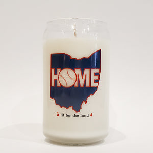 16oz Home Baseball Glassware Custom