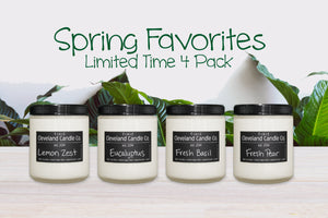 Spring Favorites - 4 Pack