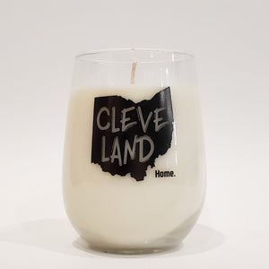 16oz B&W Home Glassware Custom
