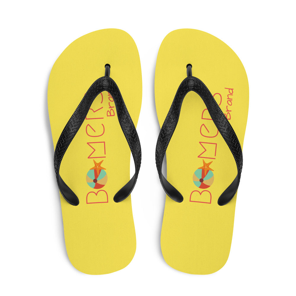 Beach Ball & Starfish Flip-Flops