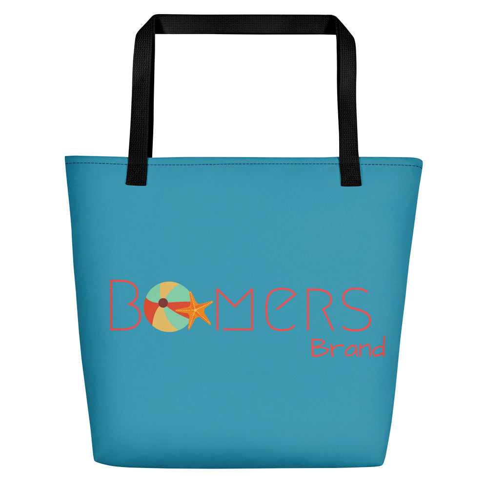 Beach Ball & Star Fish Beach Bag