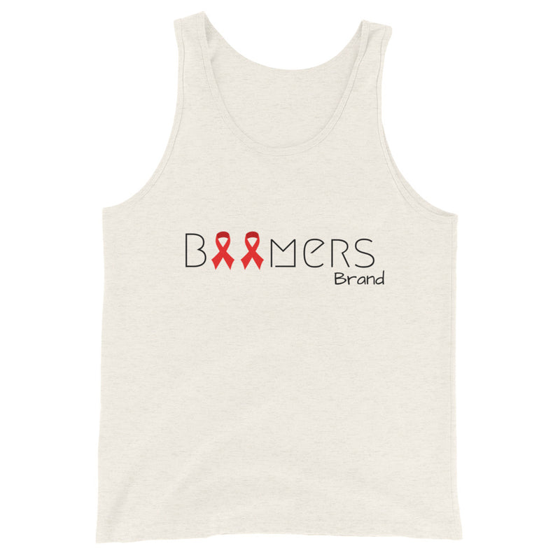 Red Awareness Ribbon Tank Top