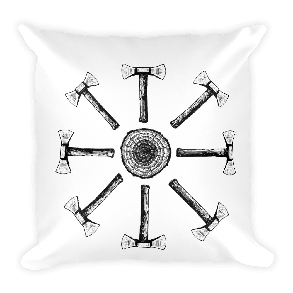 Axes All Around | Throw Pillow