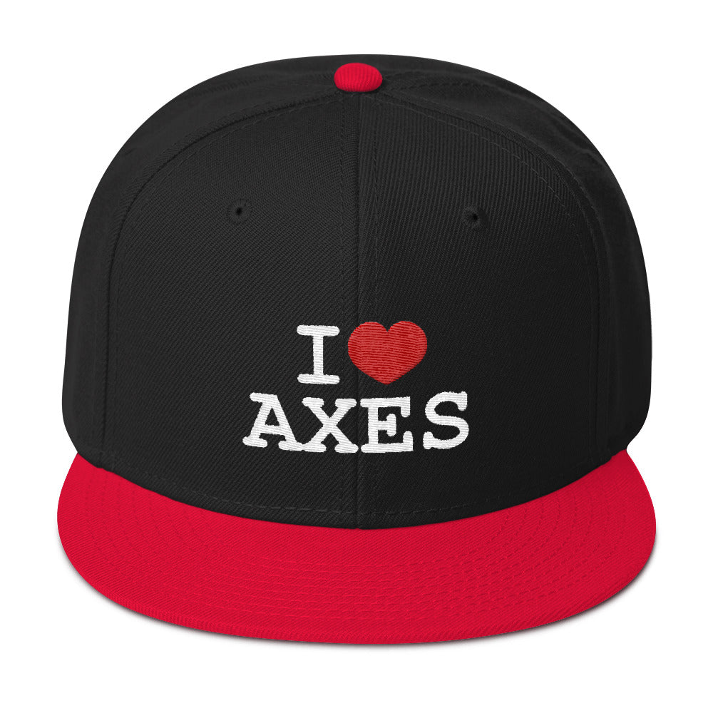 I Love Axes | Snapback Hat