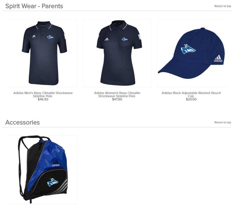 096f9f27 YOU CAN ALSO OFFER SPIRIT WEAR AND ACCESSORIES! These items are very  popular with parents and players that want to show off their team spirit.