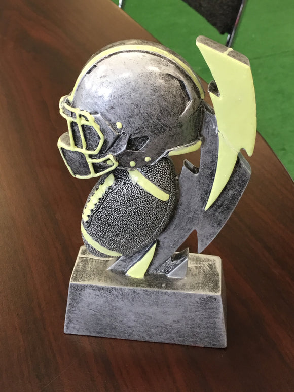 FB-31 Football Glow In Dark Resin