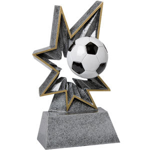 SC-38 Soccer Bobble Resin