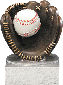 BB-37 Color baseball resin trophy
