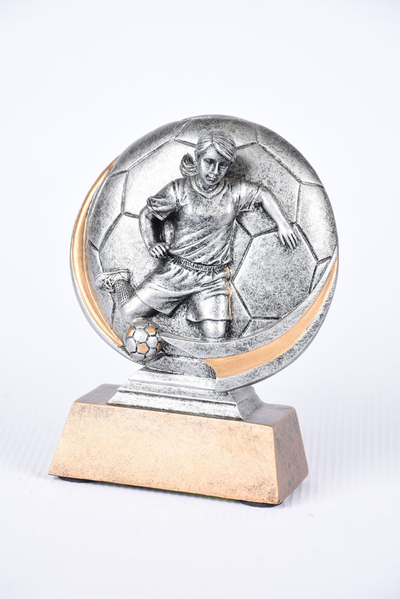 SC-51 Motion X soccer trophy