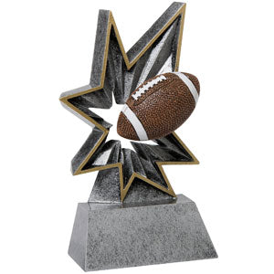 FB-38 FOOTBALL BOBBLE RESIN