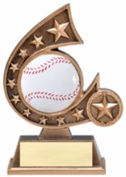 BB-3 Resin Comet Series Baseball Trophy