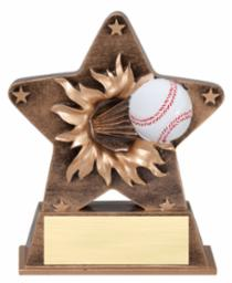 BB-5 Starburst baseball trophy
