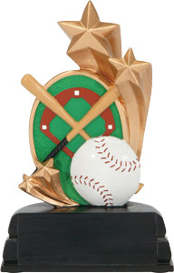 BB-32  Star baseball trophy