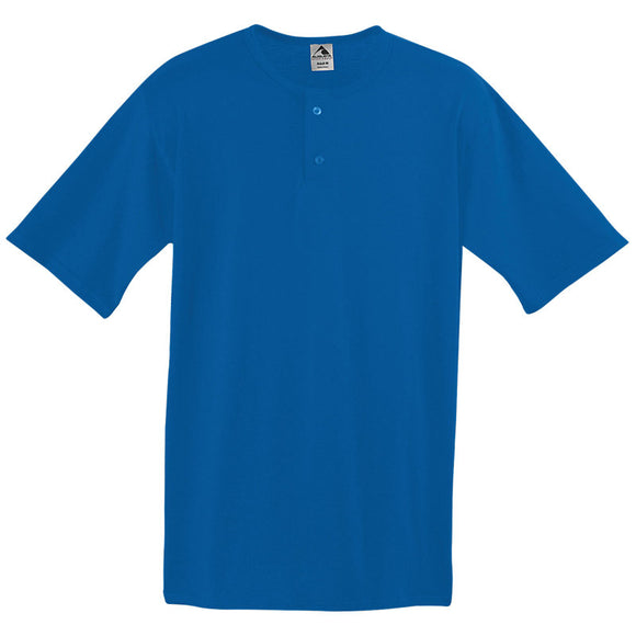 BBJ-13 Augusta Two-Button Baseball Jersey