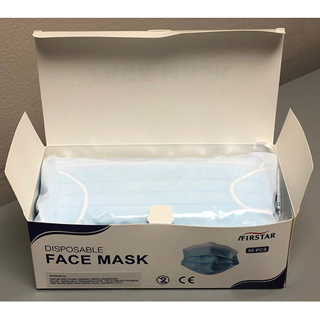 Disposable Face Mask (Single box, 50 ct)