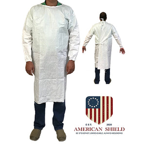 American Shield Reusable Non-Surgical Isolation Gown