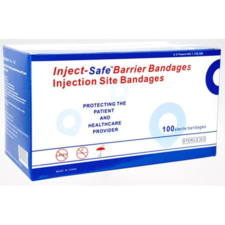 Inject Safe Barrier Bandages