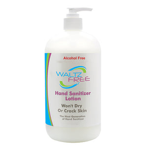 Waltz Free Hand Sanitizer Lotion - 16 oz Bottle