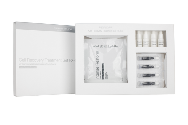 Dermatude FX-50 Cell Recovery Facial Treatment Set (4 treatments)