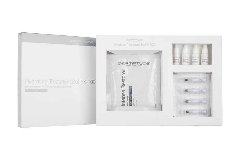 Dermatude FX-100 Hydrating Facial Treatment Set (4 treatments)