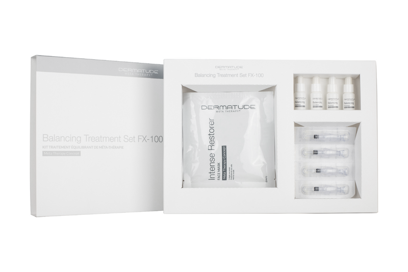 Dermatude FX-100 Balancing Facial Treatment Set (4 treatments)