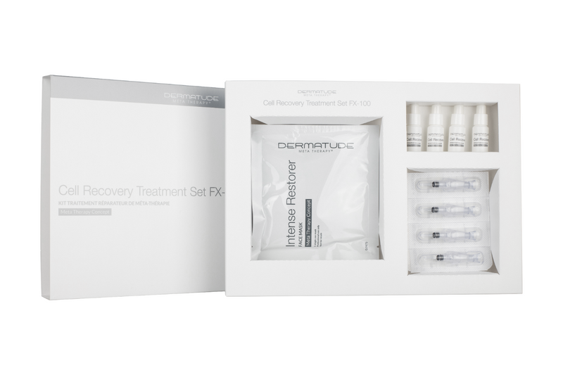 Dermatude FX-100 Cell Recovery Facial Treatment Set (4 treatments)