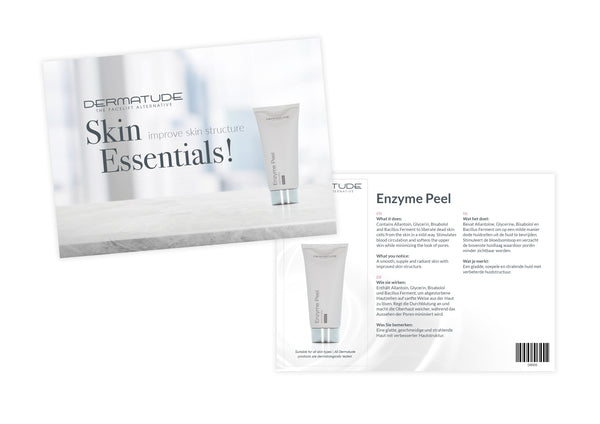 Dermatude Sample Card Enzyme Peel (Qty 25)