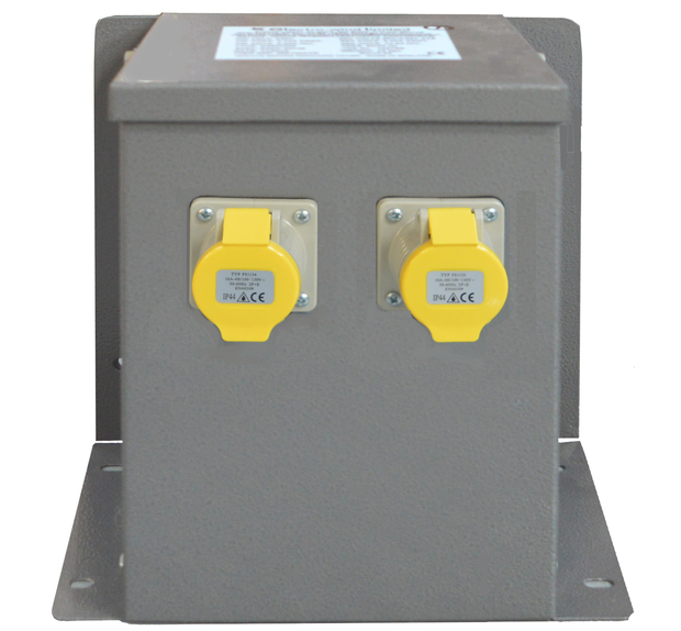 1.5kVA Wall/Floor Mounted Intermittent Transformer 2 x 16A Sockets - Product Code WM15002TR