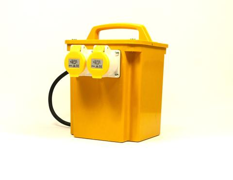 1.5KVA / 1500VA Intermittent rated portable isolation transformer 2 x 16a sockets/power tool transformer - Product Code P15/2