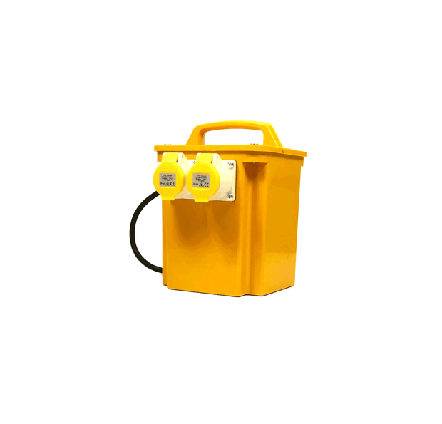 3.3kVA or 3300VA Intermittent Rated Portable Isolation Transformer 2 x 16a Sockets/ Portable Power Tool Transformer - Product Code P30/2