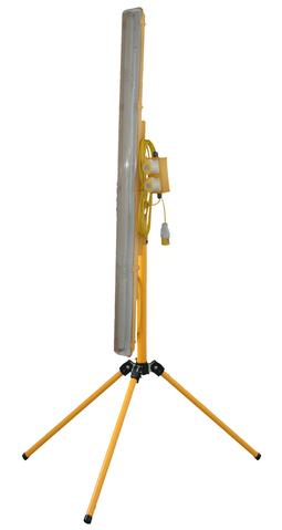 110V 5FT CONTRACTORS LIGHT, TRIPOD MOUNTED - PLASTERERS LIGHT - Product Code TRIFL5/SKT
