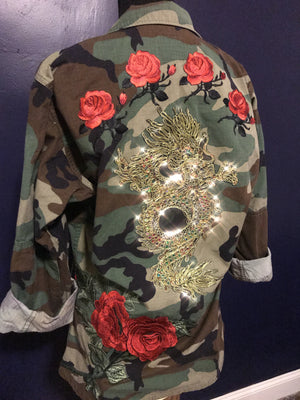 Rosie Dragon Fatigue Jacket