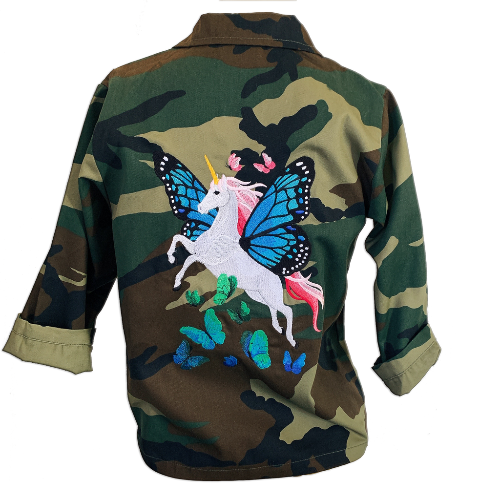 Unicorn Camo - Embroidered