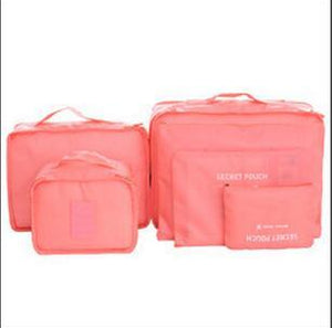 6 BAGS TRAVEL SET