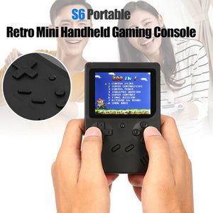 PORTABLE RETRO FC GAMING CONSOLE